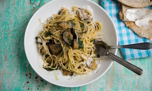 Enkel vegospagetti (om du utesluter parmesanosten).