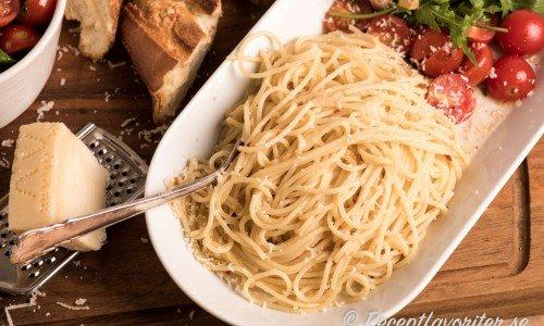 Recept med spagetti