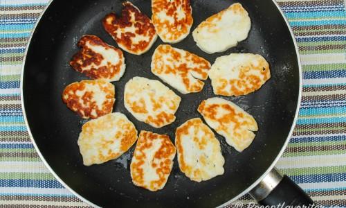 Halloumi är en ost som inte smälter när du steker den. Kan också grillas.