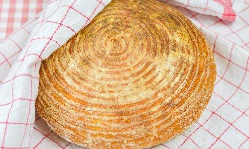 Surdegsbröd med färdig rågsurdeg