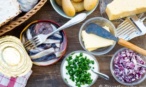 Ingredienser till surströmmingsklämmorna