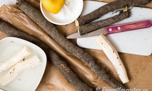 Recept med svartrot