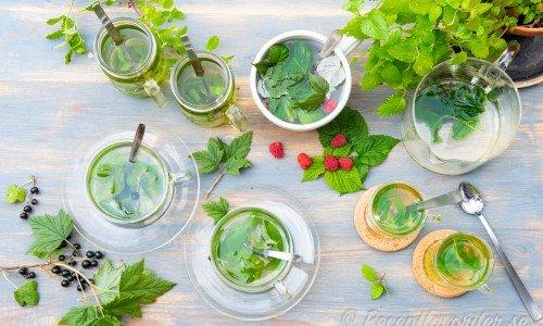 Recept på olika sorters te