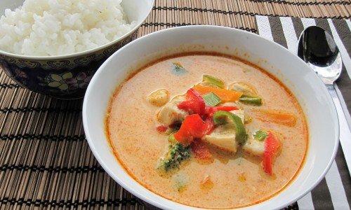 Recept på thaimat som thaigryta ovan