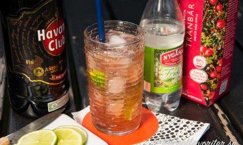 Recept med tranbärsjuice som drinkar och cocktails med mera.