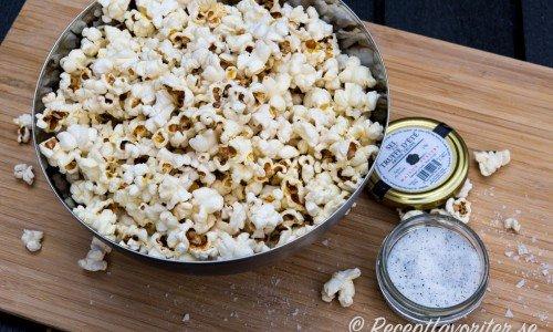 Popcorn med tryffelsalt - ett popcorn med mer vuxensmak