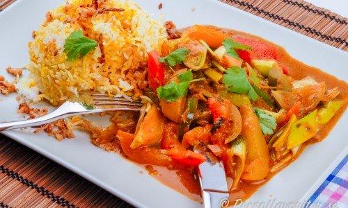 Vegan currygryta med grönsaker