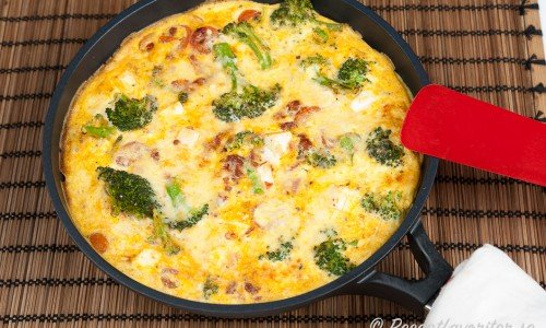 Vegetarisk omelett