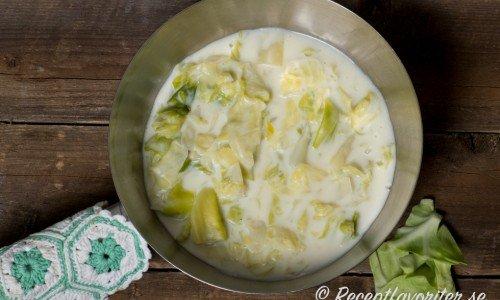 Recept med vitkål