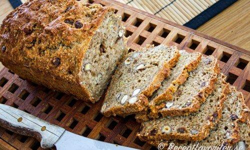 Yoghurtbröd - lättbakat bröd som är nyttigt och ej behöver jäsas.