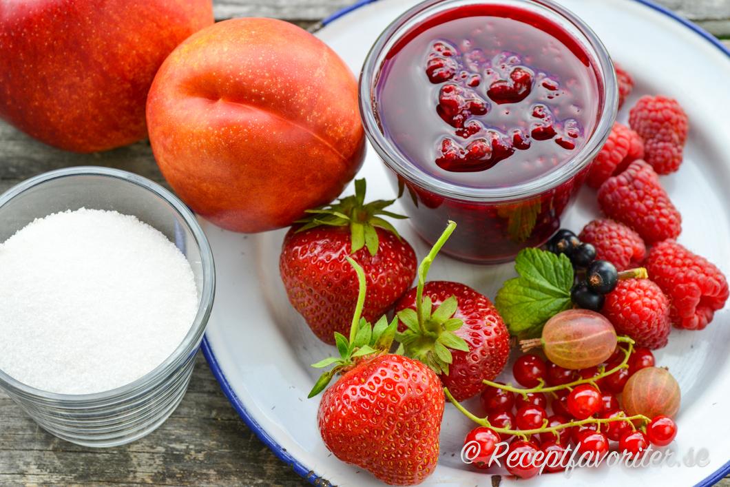 recept jordgubbssylt syltsocker
