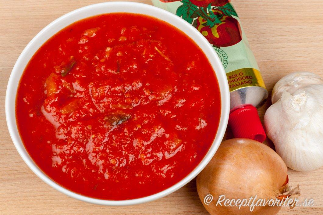 kalorier krossade tomater