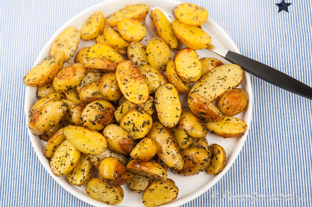 potatishalvor i ugn