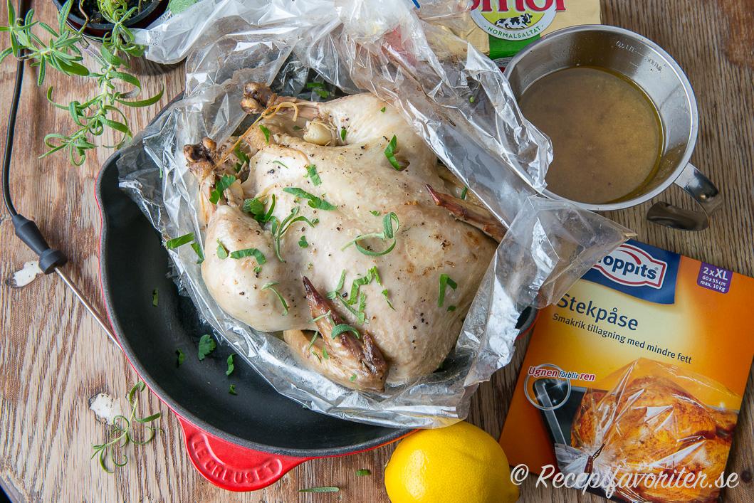 Ugnsstekt kyckling i stekpåse 03dbd963755a8
