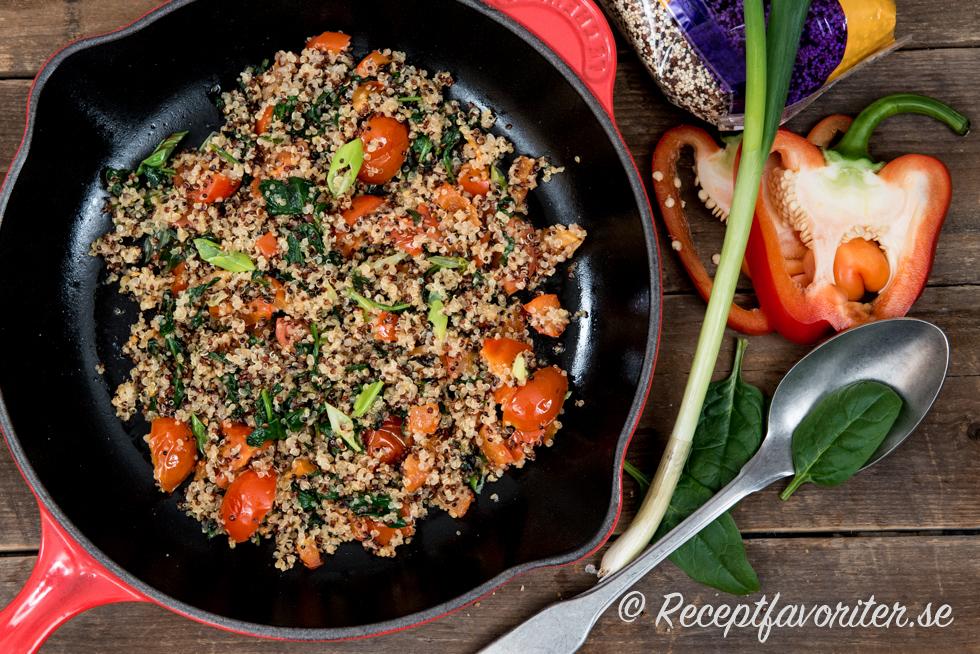 röd quinoa recept