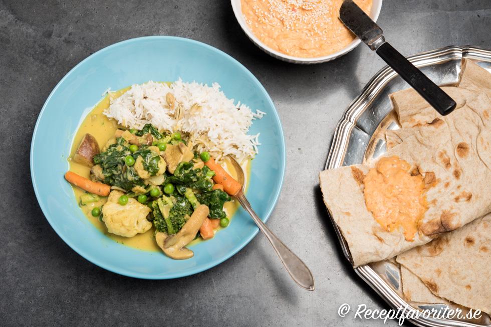 vegansk gryta recept