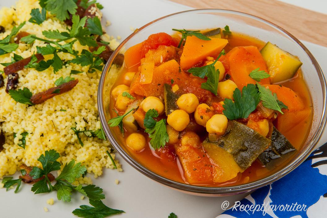 marockansk mat vegetarisk