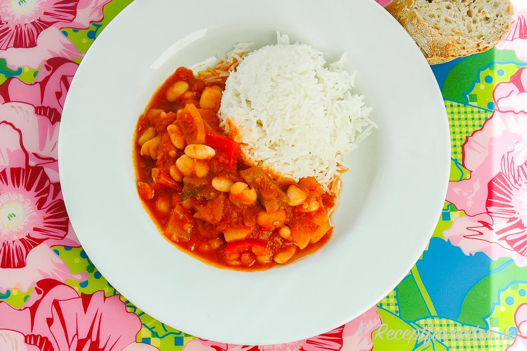 Vegetarisk gryta recept