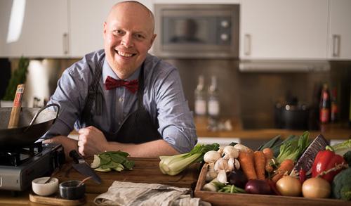 Henrik Mattsson, kock, matskribent och skapare av Receptfavoriter.se