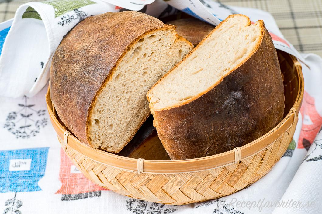 Ankarstock i brödkorg