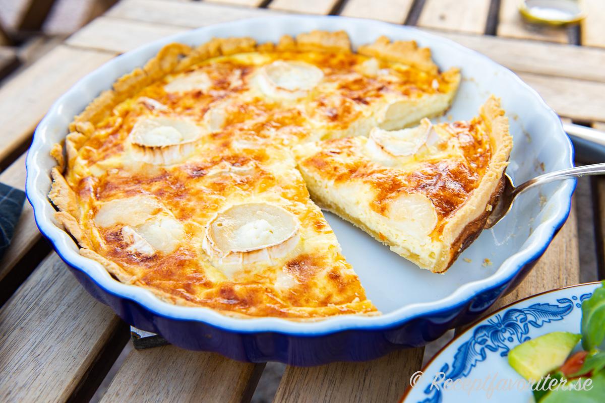Chèvrepaj eller getostpaj får massor med god smak.
