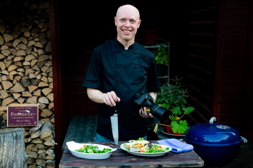 Henrik Mattsson, kock Receptfavoriter.se