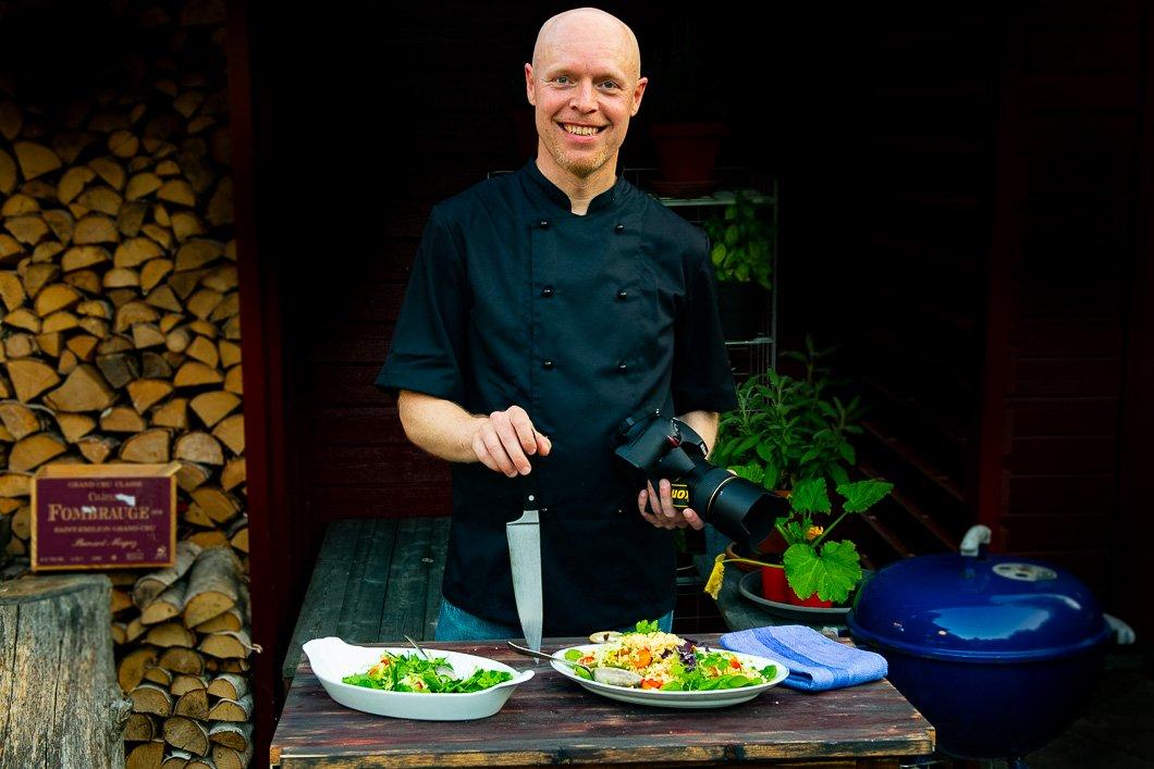 Henrik Mattsson, kock och skapare av Receptfavoriter