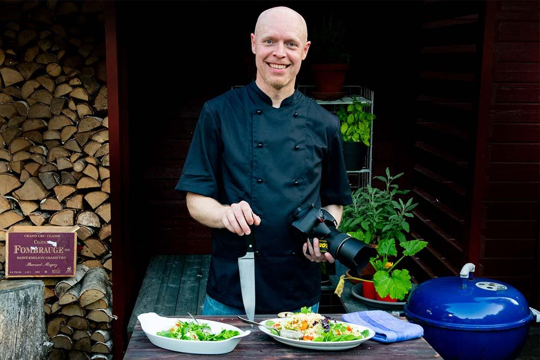 Henrik Mattsson kock på Receptfavoriter