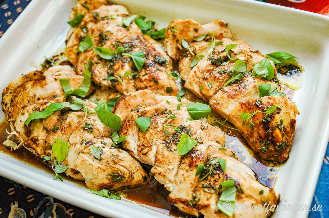 marinerad kyckling recept