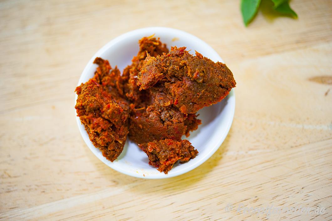 Thailändsk chilipasta med röd curry