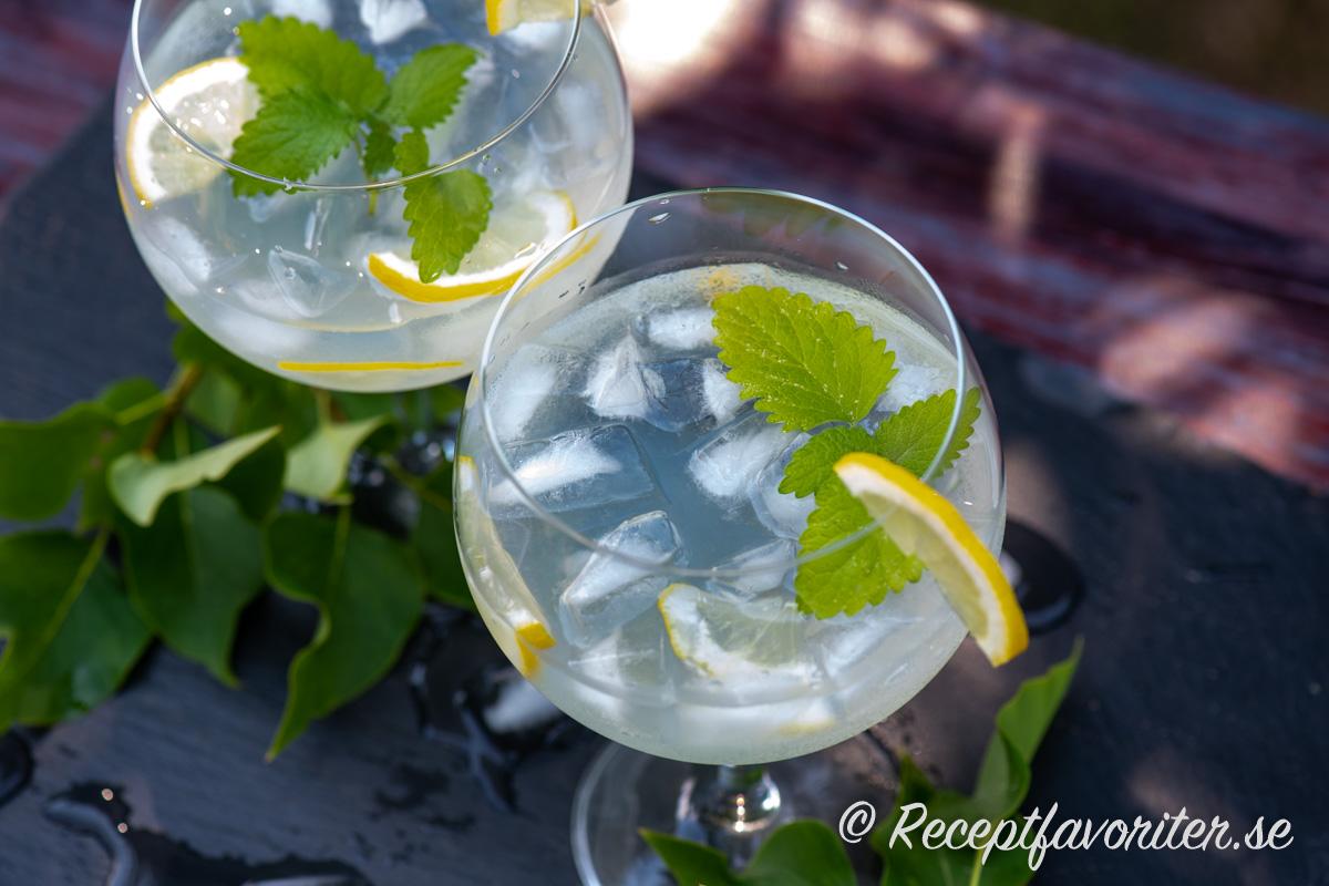 Sätt twist på din Gin och tonic med lite syrensaft.