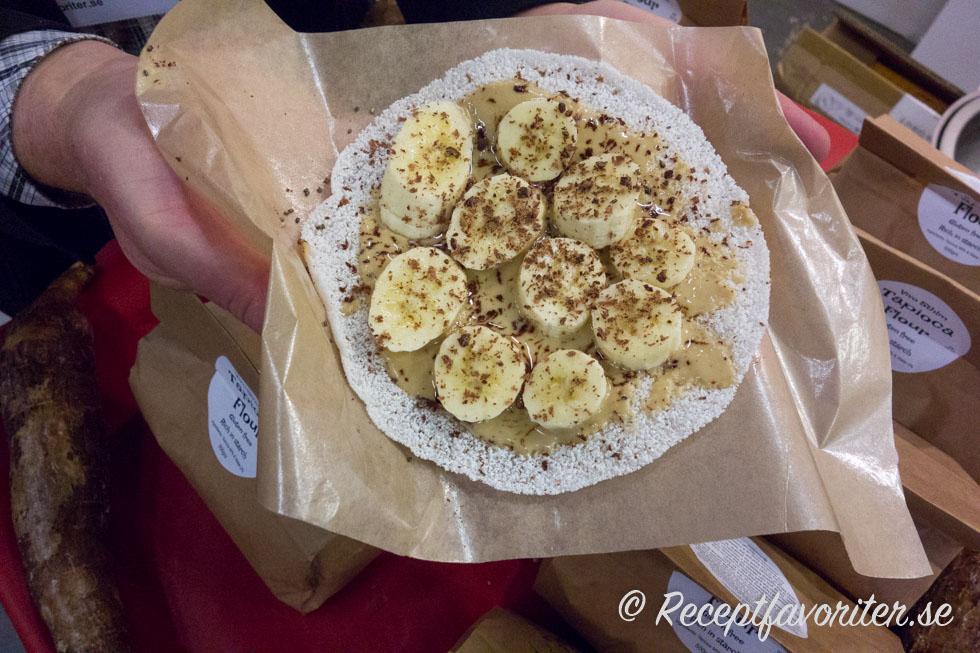 Brasilianska tapioka pannkakor - helt vegana